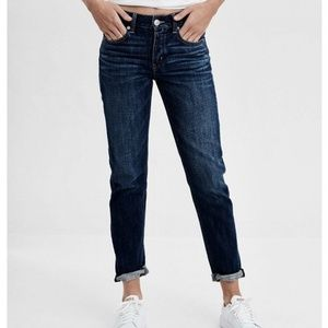 AMERICAN EAGLE Tomgirl Stretch Button Fly Jeans 0